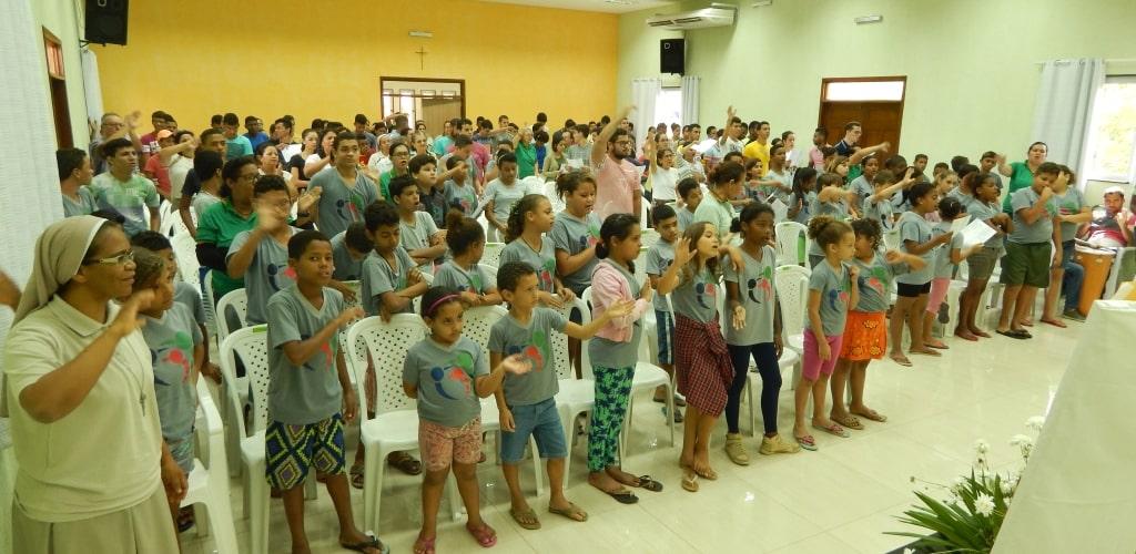 Celebrazione eucaristica all'IPLC