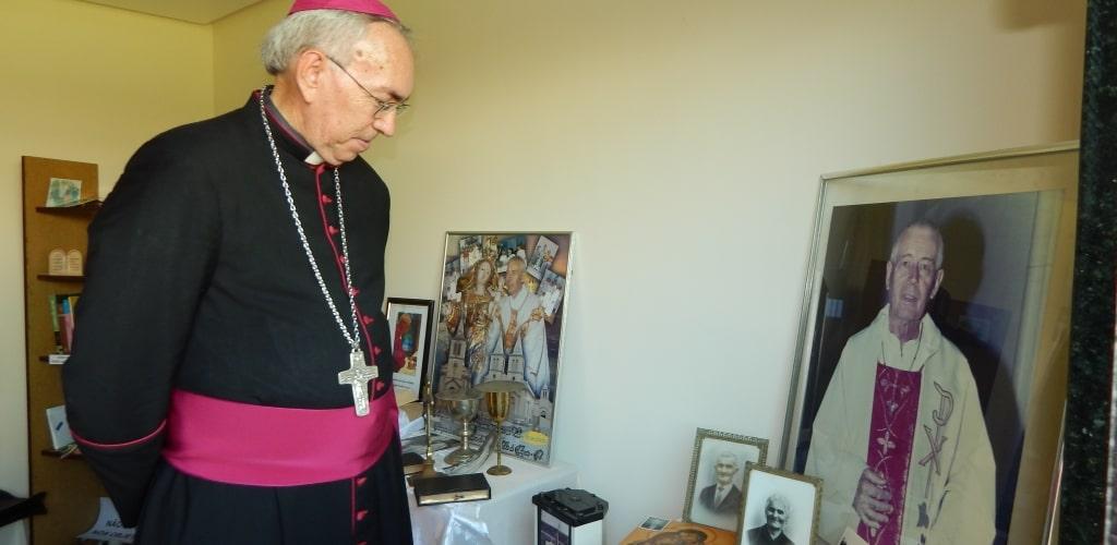 Il nuovo vescovo al museo dedicato a Padre Luigi